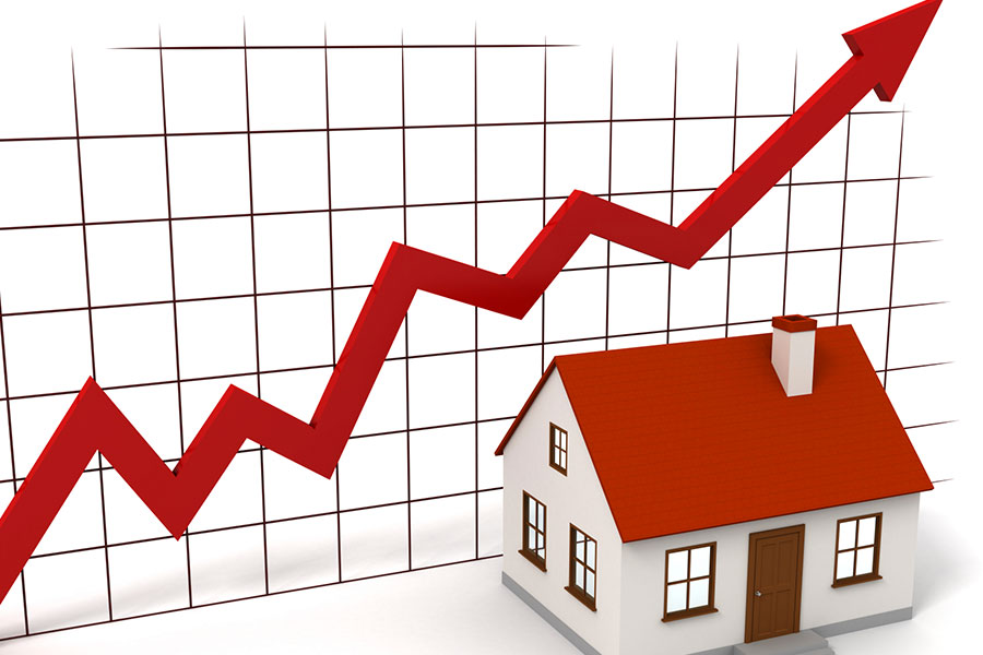 HOUSE PRICES CONTINUE TO RISE FASTER THAN EARNINGS